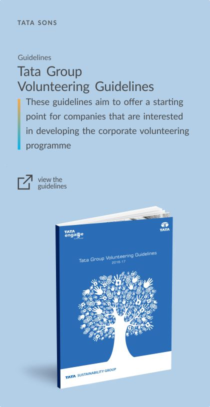 Tata Group Volunteering Guidelines