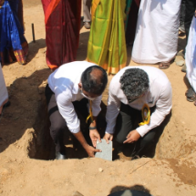 Foundation stone for a new building laid in Government Higher Secondary School, Idukki, as part of the Tata Kerala Floods Response Programme