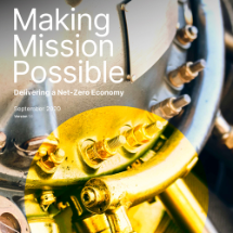 Making Mission Possible - a major milestone for Energy Transition Commission (ETC)